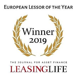 Award Winner 2019 : European Lessor of the Year by Leasing Life